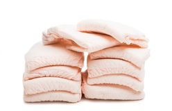 diapers isolated Royalty Free Stock Photo