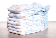 Diapers Royalty Free Stock Image
