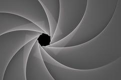 Diaphragm. A beautiful rendered gray diaphragm Vector Illustration