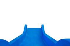 Diapositiva azul Imagenes de archivo