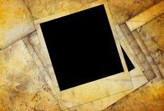 Diapositiva de la foto en el papel del grunge Foto de archivo