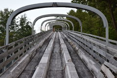 Diapositiva del trineo largo Foto de archivo libre de regalías