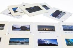 Diapositivas de las hojas de ruta (traveler) de mundo Imágenes de archivo libres de regalías