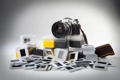Diapositivas del reflejo e Foto de archivo libre de regalías
