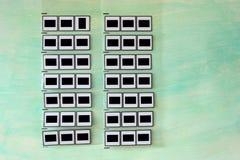 Diapositivas, espacio libre para su pix, Imagen de archivo libre de regalías