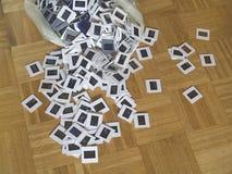 Diapositivas fotográficas Foto de archivo libre de regalías