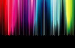 Diapositive en couleurs d'arc-en-ciel Photos stock