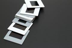 diapositives de film de glissières de 35mm avec l'espace de copie Image stock