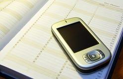 Diario #01 de PDA Imagen de archivo libre de regalías