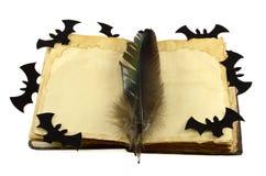 Diario de la bruja aislado Fotografía de archivo libre de regalías