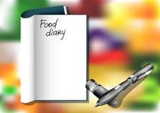 Diario de la comida libre illustration