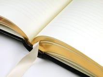 Diario-En blanco Imagen de archivo libre de regalías