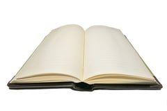 Diario en blanco Imagenes de archivo