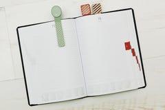 diario Moderno-diseñado con las señales acogedoras Fotografía de archivo libre de regalías
