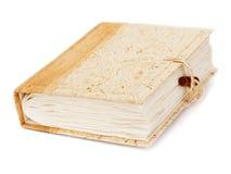 Diario o libro dell'album di foto isolato su fondo bianco Fotografie Stock Libere da Diritti