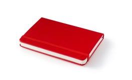Diario rojo Foto de archivo libre de regalías
