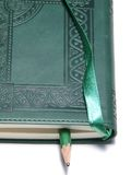 Diario verde imagen de archivo