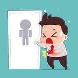 diarrea ilustración del vector