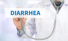DIARRHEA Stock Image