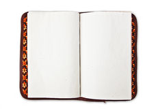 Diary. Notebook on white background Royalty Free Stock Images