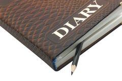 Diary stock photography