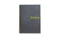 Diary book Stock Image