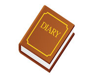 Diary book Royalty Free Stock Image