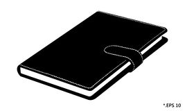 Diary book and notebook Royalty Free Stock Photography