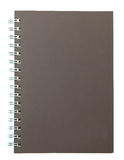 Diary book on white. Isolated Royalty Free Stock Image