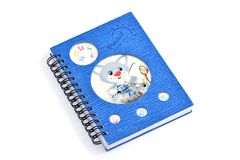 Diary for children Royalty Free Stock Photo