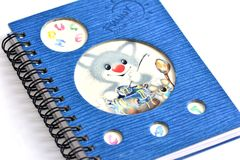 Diary for children Royalty Free Stock Image