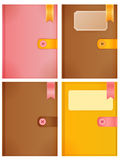 Diary Collection. Vector File EPS10 Royalty Free Stock Image