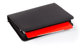 Diary with a colourful red tab Royalty Free Stock Photo
