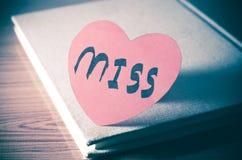 Diary of love Royalty Free Stock Photos