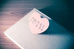 Diary of love Royalty Free Stock Photo
