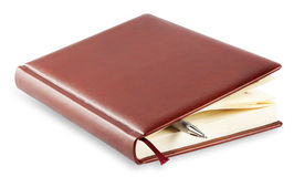 Diary with mortgaged pen Royalty Free Stock Photography
