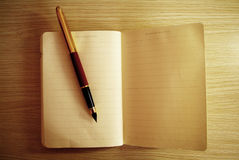 Diary note book Royalty Free Stock Photography