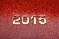 Diary notes agenda 2015 Royalty Free Stock Photo