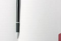 Diary and pen Royalty Free Stock Photos