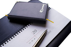 Diary and weekly-01 Stock Images