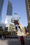 Diary of a Wimpy kid balloon in Macy's parade Royalty Free Stock Image