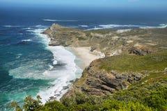 Dias海滩,开普敦半岛,南非 库存照片