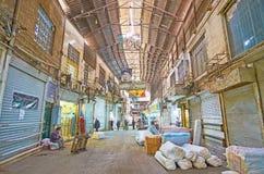 Dias úteis de bazar grande de Tehran Fotos de Stock Royalty Free
