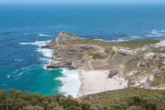 Dias Beach and the Cape of Good Hope Royalty Free Stock Images