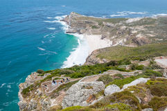 Dias Beach and the Cape of Good Hope Stock Photography