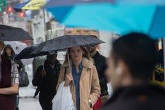 Dias chuvosos Foto de Stock Royalty Free