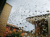 Dias chuvosos Fotografia de Stock Royalty Free