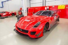 Dias de competência de Ferrari Fotos de Stock Royalty Free