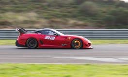 Dias de competência de Ferrari Foto de Stock