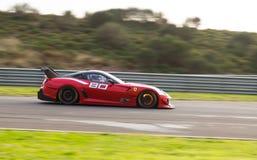 Dias de competência de Ferrari Fotografia de Stock
